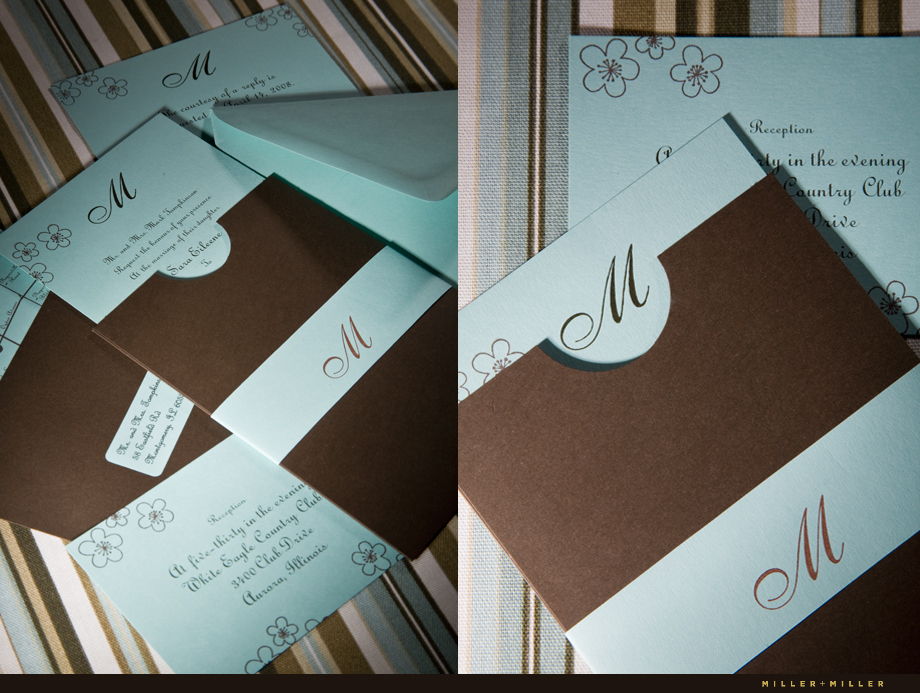 Wedding Invitation Design Chicago Illinois IL weddings