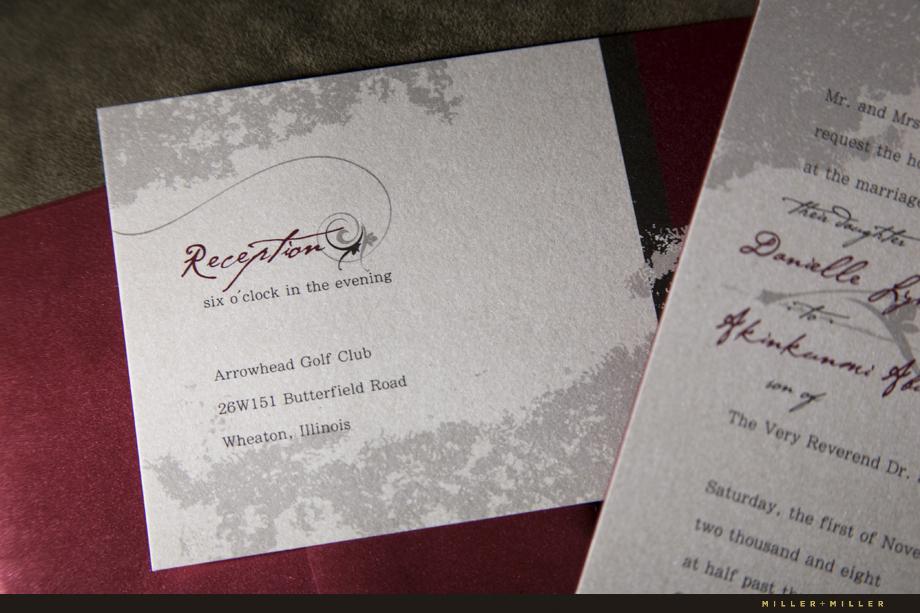 wedding invitation design chicago illinois il archives chicago