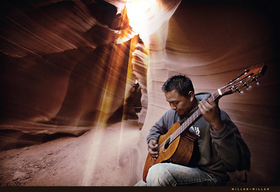Antelope Canyon Navajo Guitar