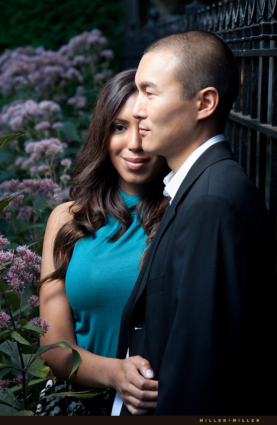 Elegant Illinois Engagement Photos