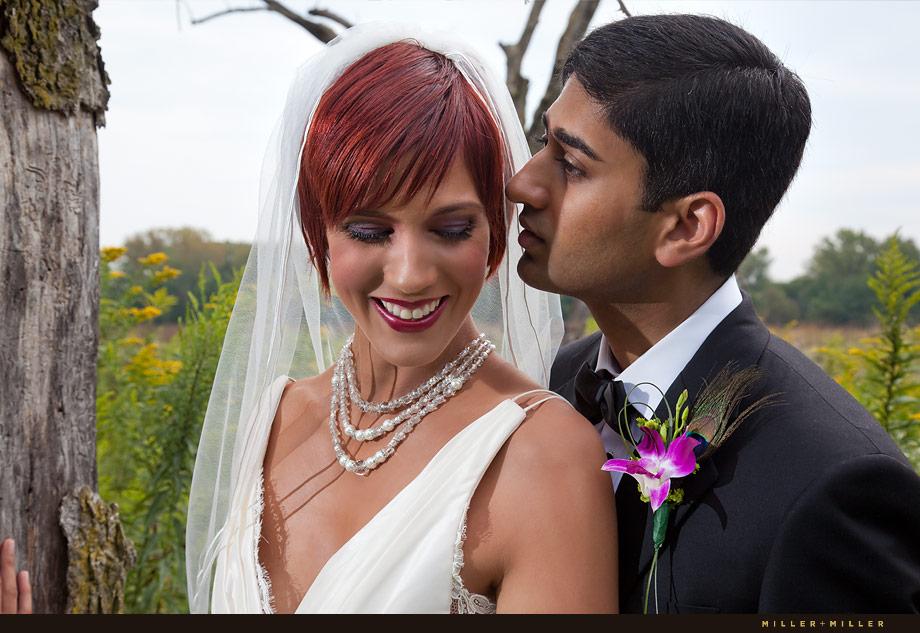 Chicago Illinois Wedding Kiss