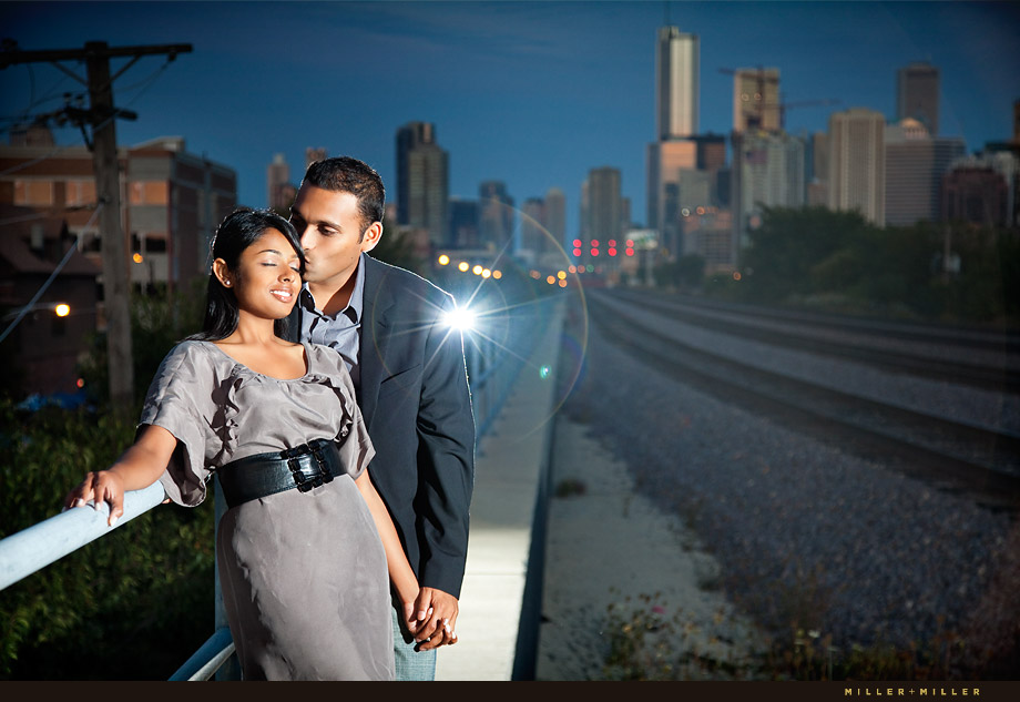 Chicago Kiss Skyline