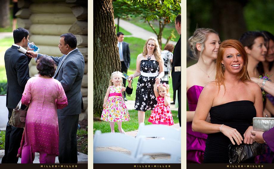 Recieving Line Wedding Photos