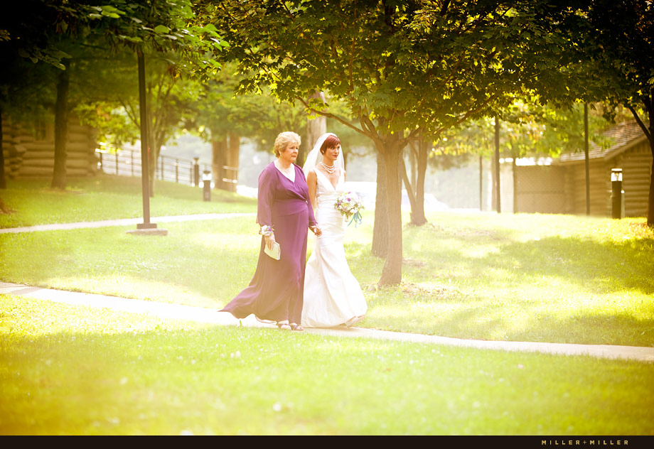 Sunset Wedding Illinois
