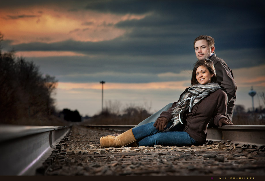 Lighting Stylish Barrington Engagement Photographer IL