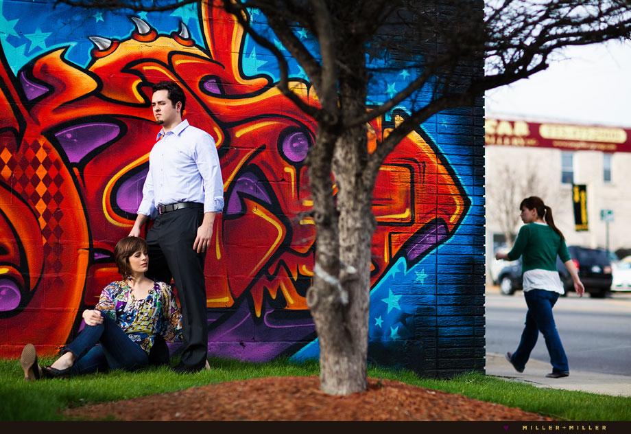 chicago wild style graffiti dramatic color