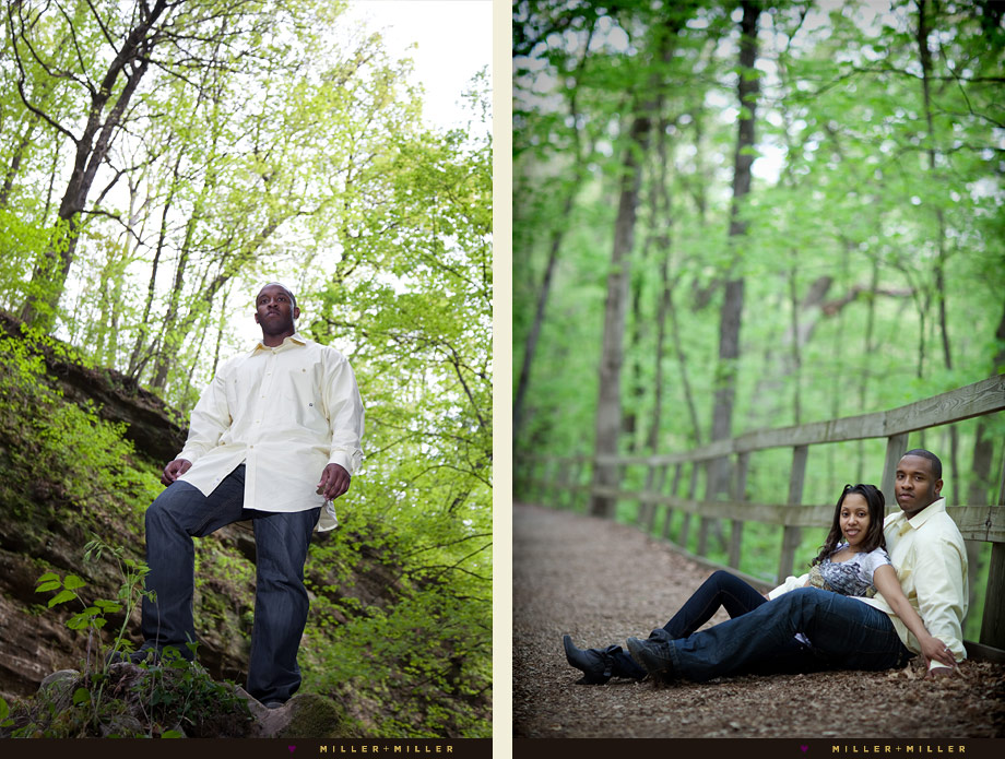 climbing starved rock couple pictures