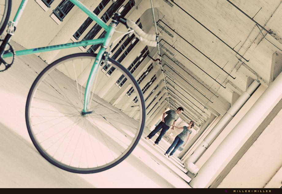 engagement images on bikes illinois