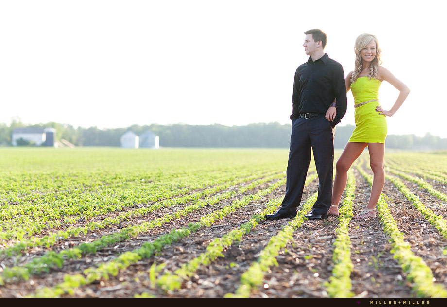 Chicagoland Engagement Photographer Country Images