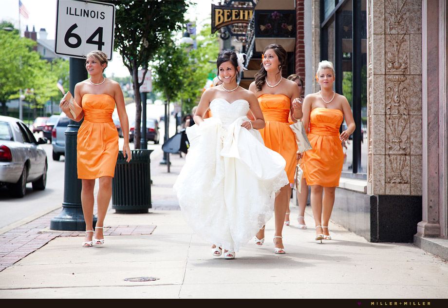downtown saint st charles wedding photography illinois