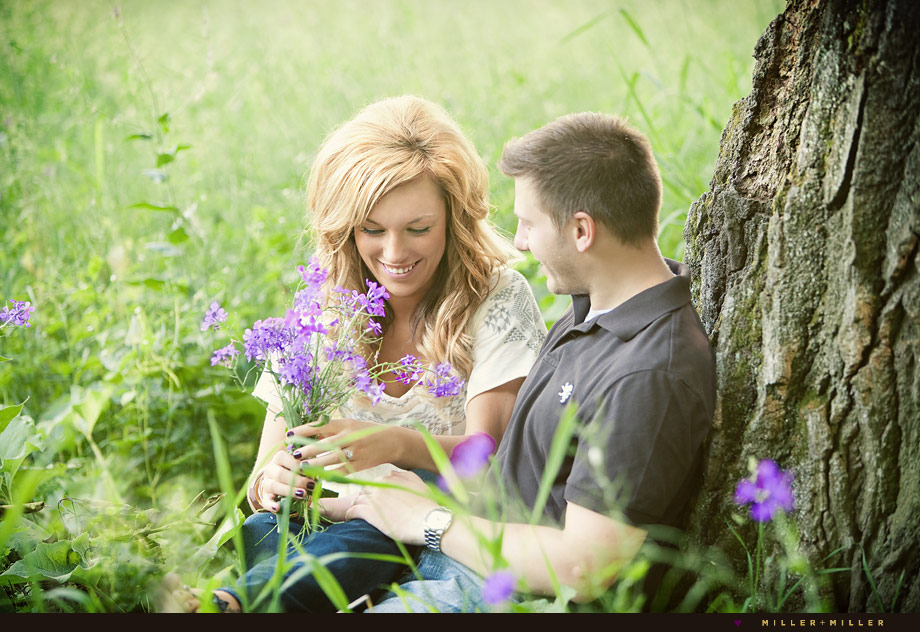 Engagement Nature Images Chicagoland Wedding Photographer
