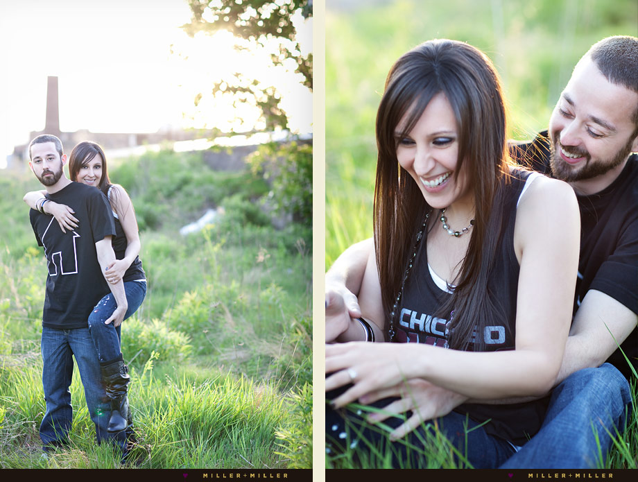 stylish chicago engagement photographer