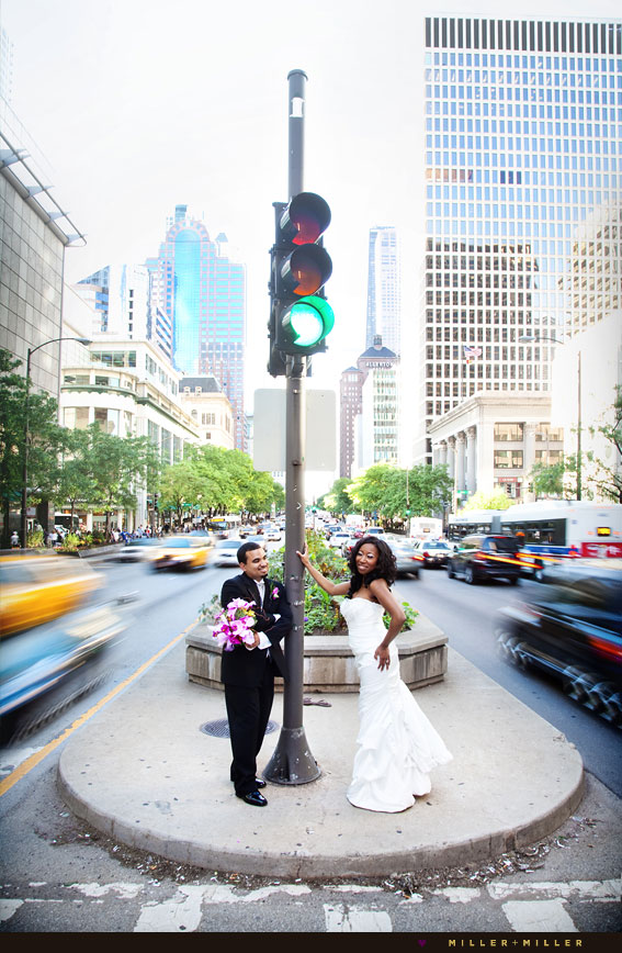 high-fashion Chicago wedding photographer