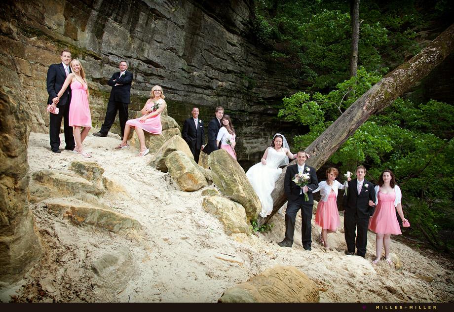 scott cherilyn married starved rock wedding