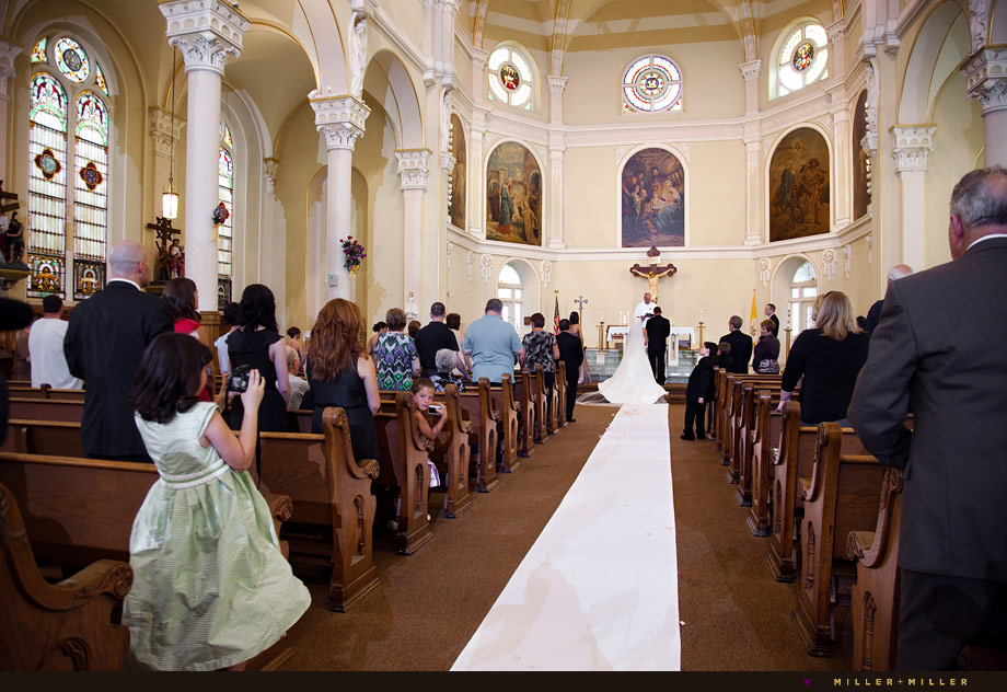 ornate Chicago church wedding