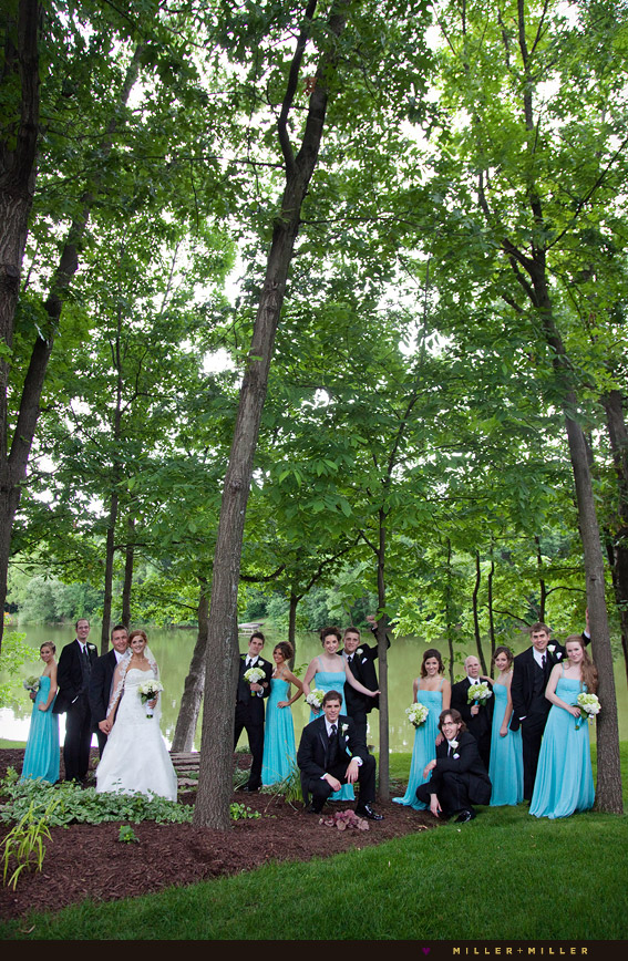 Wedding Photography Trees Lake