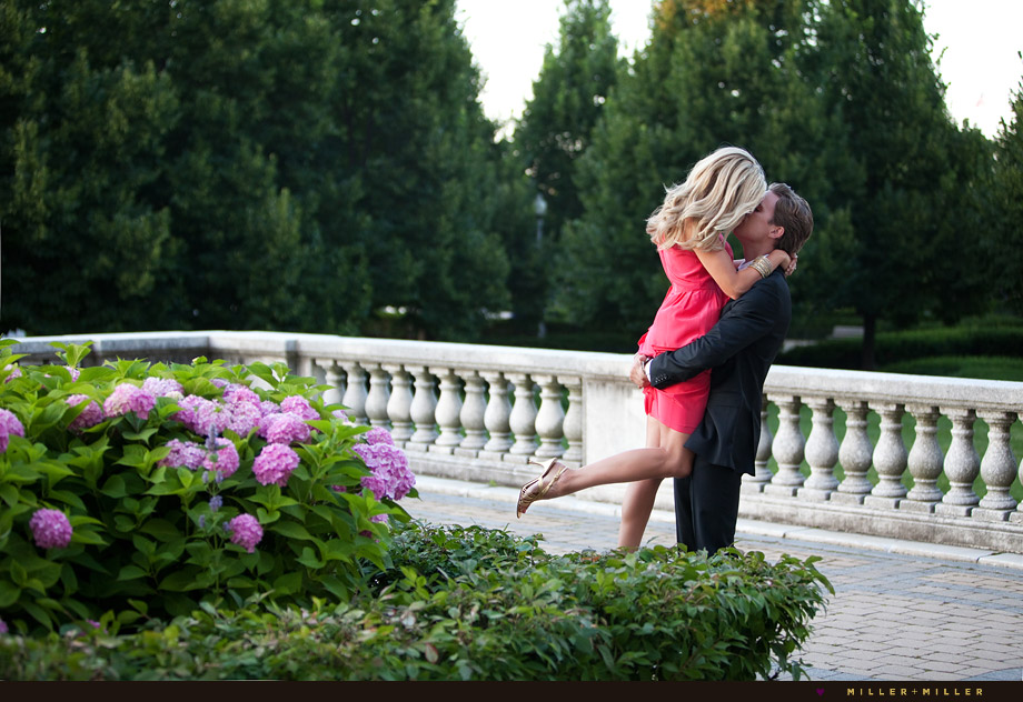 chicago gardens engagement