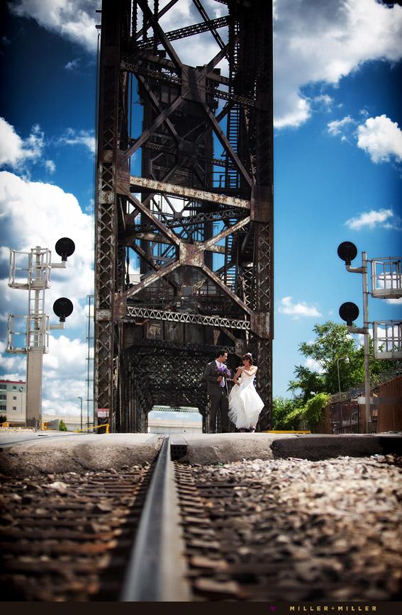 chicago urban wedding