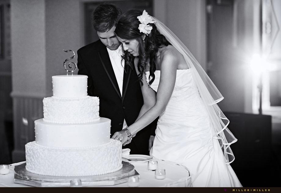 Chicago Wedding Cake Cutting