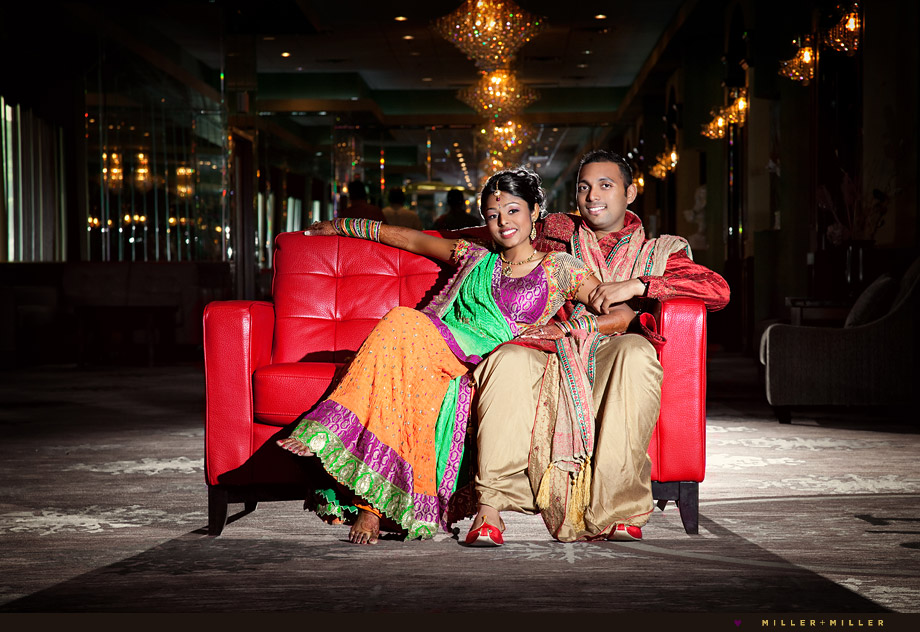 Chicago Indian Wedding Portraits