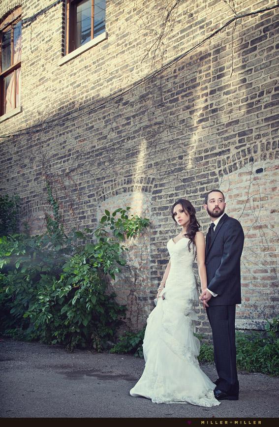 High fashion chicago wedding photographer