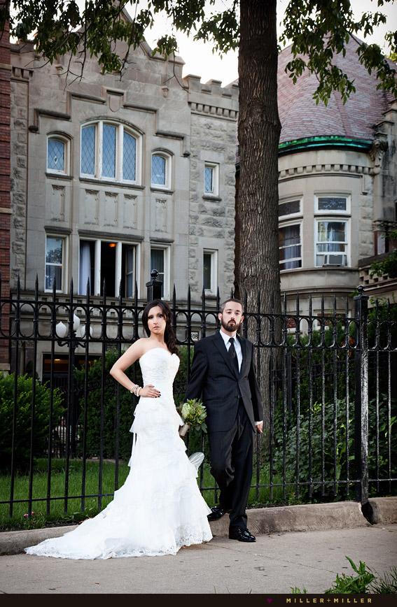 modern chicago wedding photographer ian erica s stan
