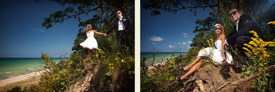 chicago fashion trash the dress photographer