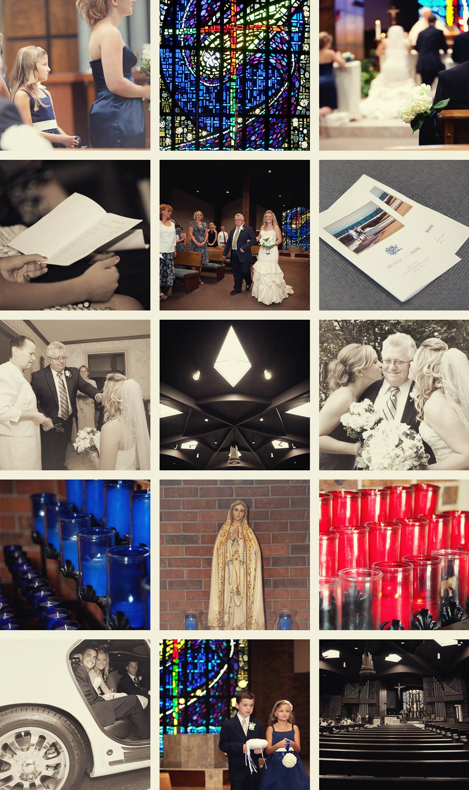chicago wedding ceremony photographs