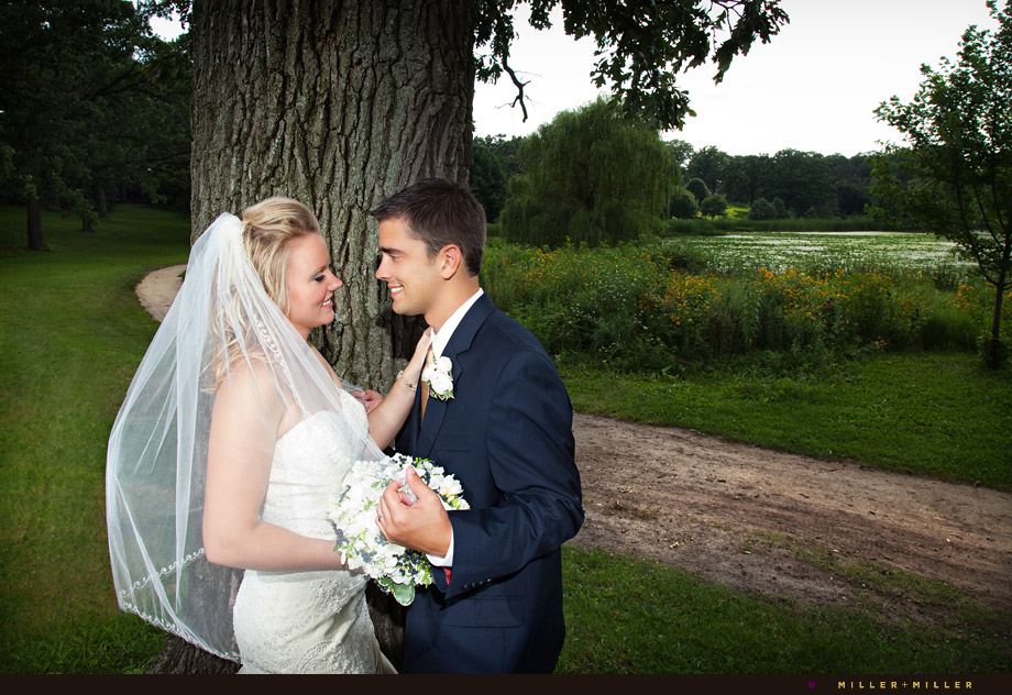 romantic elegant wedding photographer illinois