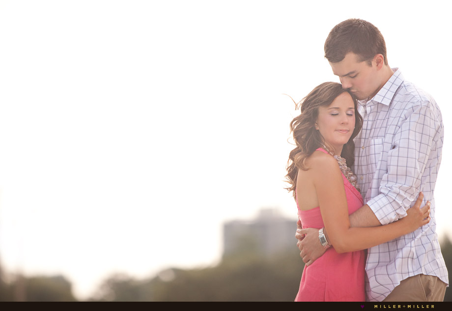 romantic engagement photography chicago