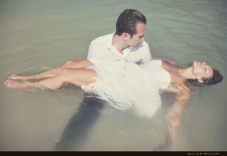 trash the dress water river pond lake ocean