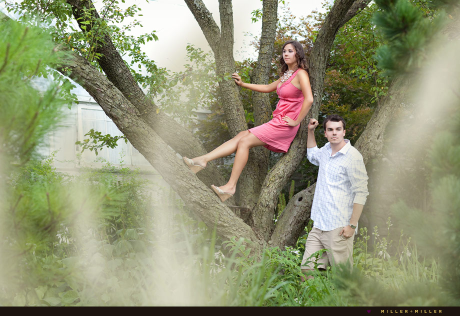 unique engagement photography pictures