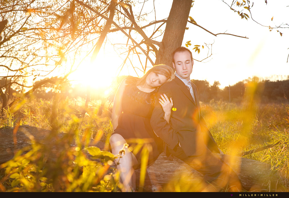 engagement photography lemont narnia estate wedding