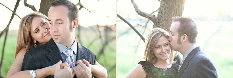 naperville riverwalk engagement photography IL