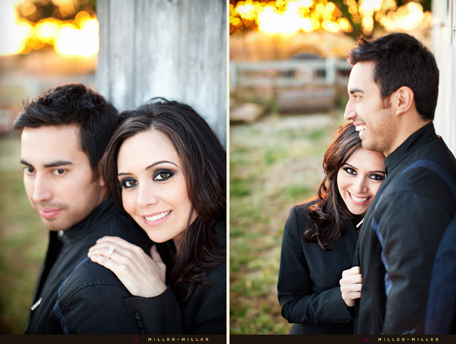 illinois barn engagement photography