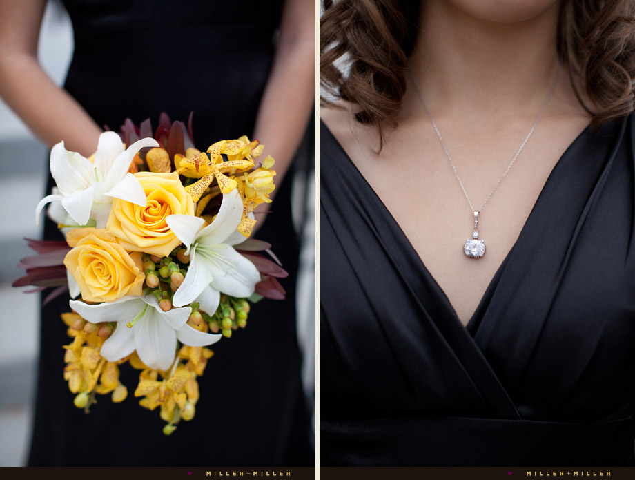 yellow bouquets boutonniere