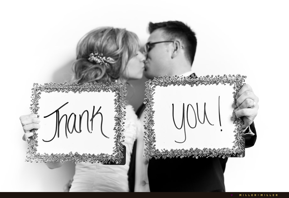 wedding thank you DIY marker signs