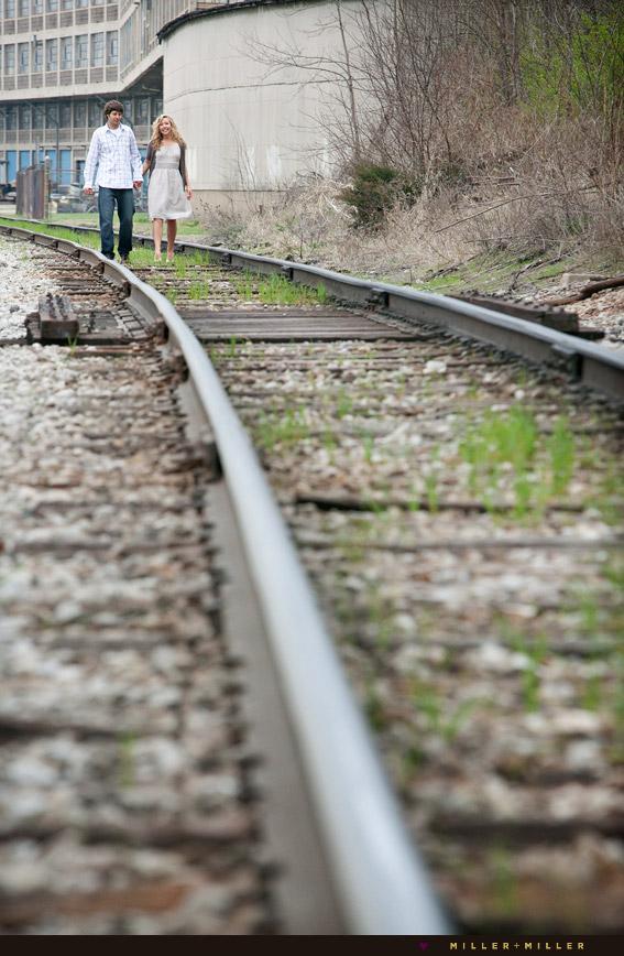 portraits illinois train tracks