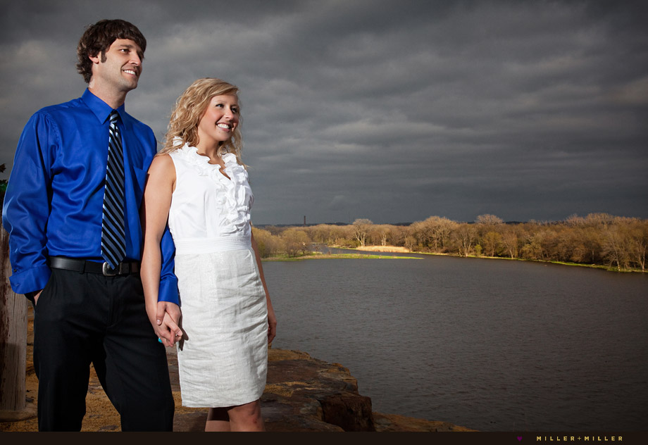 starved rock engagement pictures