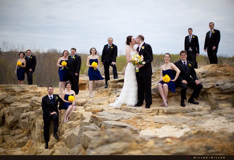 Starved Rock Bluffs On My Honor Starved Rock Wedding