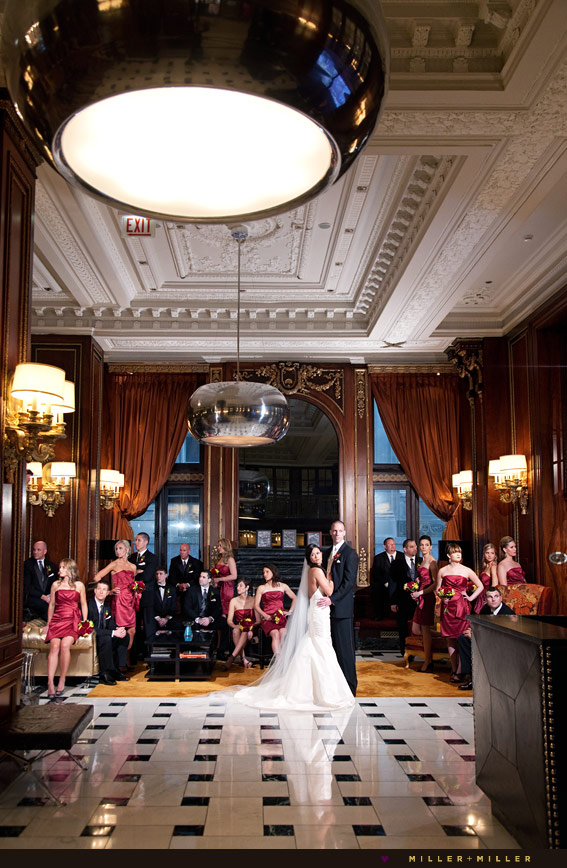 blackstone hotel wedding photographer