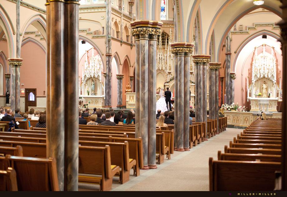 chicago holy name church ceremony
