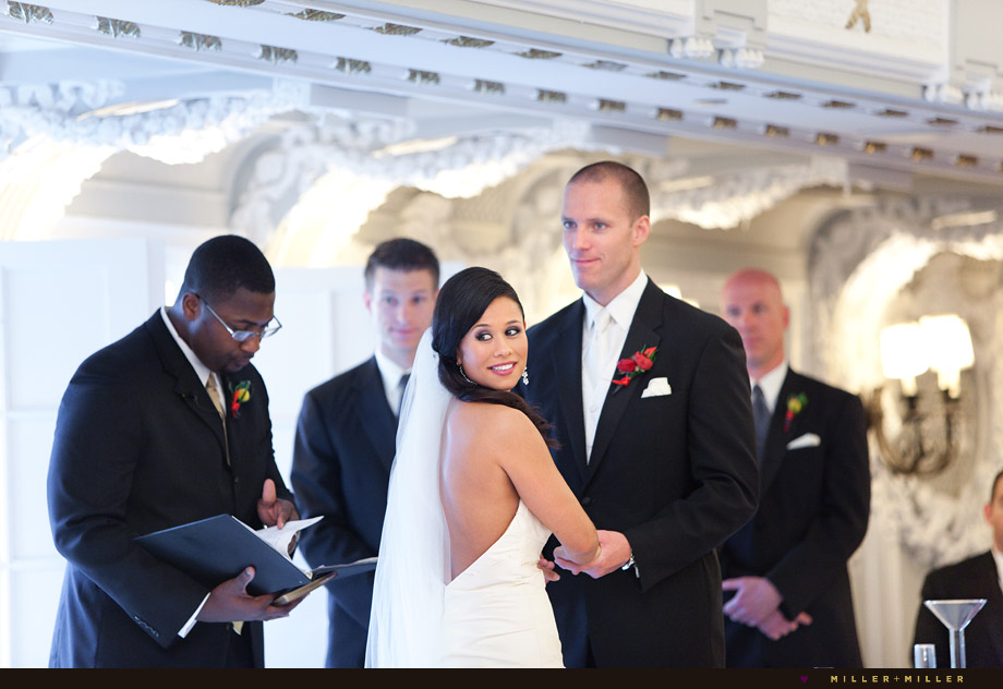 indoor luxury hotel ceremony