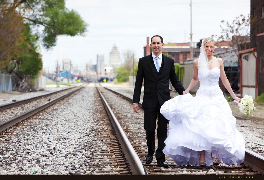 wedding photographer illinois modern style