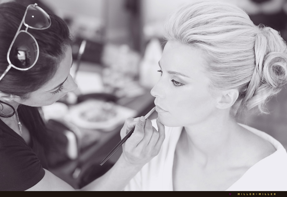 chicago bride make-up photography