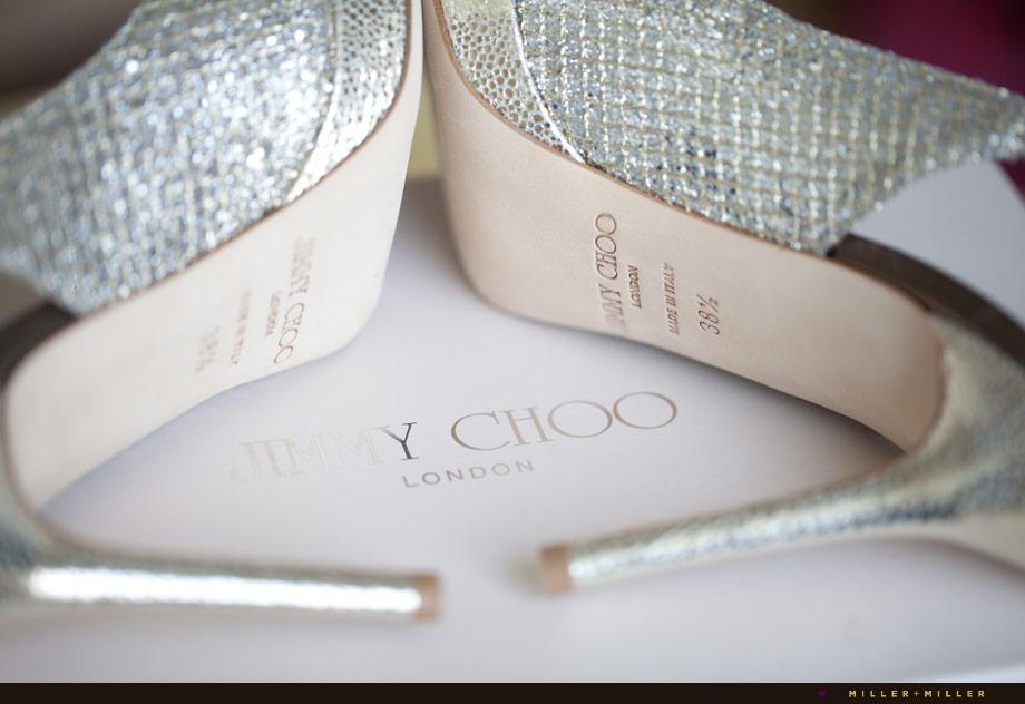 glitter modern bridal platform heels
