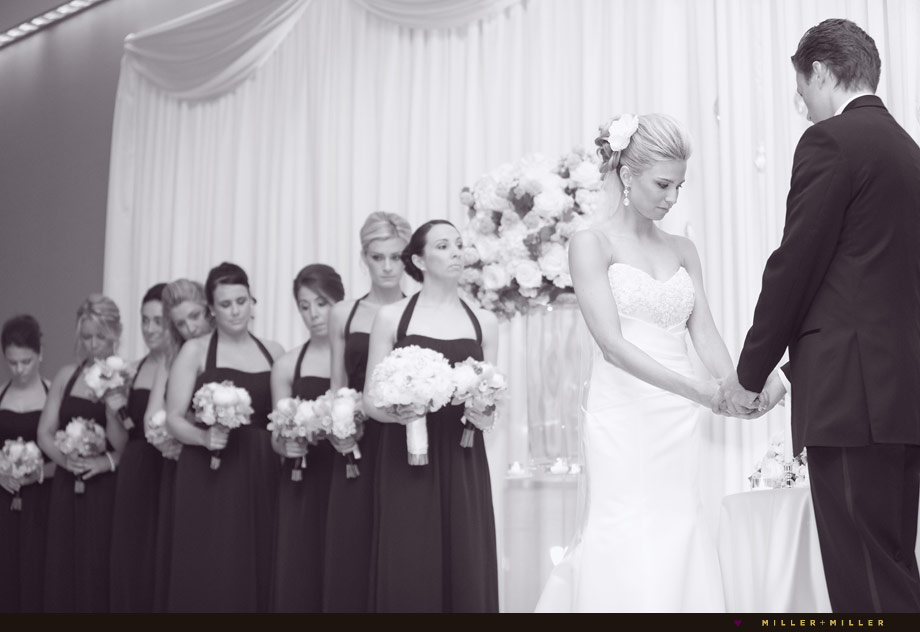 renaissance schaumburg hotel wedding ceremony photographs
