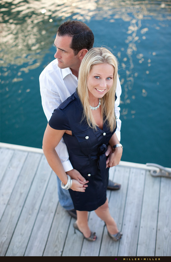 Rob Brandy S Chicago Harbor Yacht Engagement Photography Session Chicago Wedding Photographers