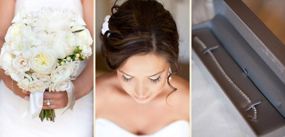 elegant bride detail photos