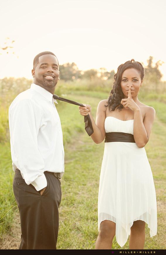 devious bride groom portraits